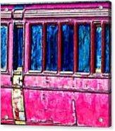 Vintage Passenger Carriage Acrylic Print