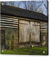 Vintage Pennsylvania Barn Acrylic Print