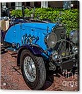 Vintage Peugeot 201 Acrylic Print