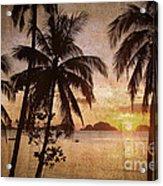 Vintage Philippines Acrylic Print