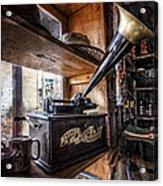 Vintage Phonograph Acrylic Print