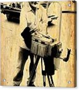 Vintage Photographer Tintype Acrylic Print
