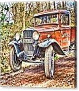 Vintage Pickup Truck Acrylic Print