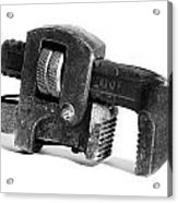 Vintage Pipe Wrench Acrylic Print