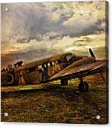 Vintage Plane Acrylic Print