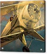 Vintage Plane In Flight Acrylic Print