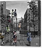 Vintage Playground Acrylic Print