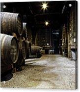 Vintage Porto Wine Cellar Acrylic Print