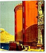 Vintage Poster - Napoli Acrylic Print