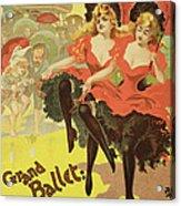 Vintage Poster   Brighton Acrylic Print