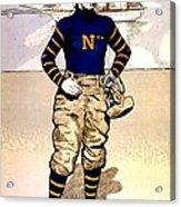 Vintage Poster - Naval Academy Midshipman Acrylic Print