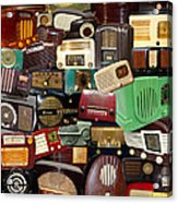 Vintage Radios Acrylic Print