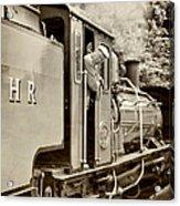 Vintage Railway Acrylic Print
