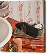 Vintage Reading Glasses Still Life Art Prints Acrylic Print