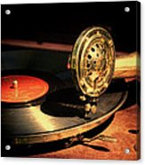 Vintage Record Player Acrylic Print