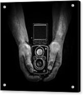 Vintage Rolleiflex Acrylic Print by Rod Sterling