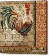 Vintage Rooster-a Acrylic Print