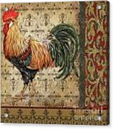Vintage Rooster-d Acrylic Print