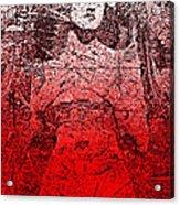 Vintage Ruby Portrait Acrylic Print