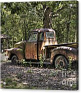Vintage Rust Acrylic Print by Benanne Stiens