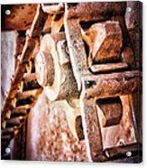 Vintage Rust Acrylic Print by Pam Vick
