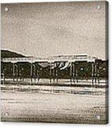 Vintage Saltburn Pier Acrylic Print