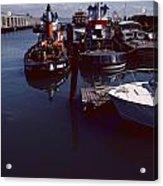 Vintage San Francisco Waterfront Acrylic Print