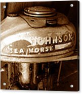 Vintage Sea Horse Acrylic Print