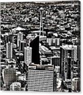 Vintage Seattle Acrylic Print