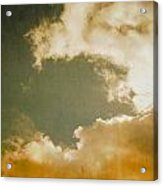 Vintage Sky Acrylic Print