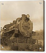 Vintage Steam Locomotive Acrylic Print