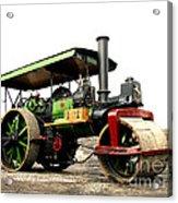 Vintage Steam Roller Acrylic Print