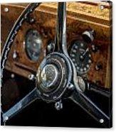 Vintage Steering  Acrylic Print