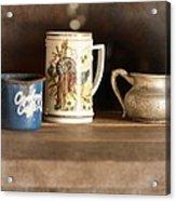 Vintage Still Life Acrylic Print