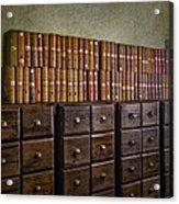 Vintage Storage Acrylic Print
