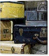 Vintage Suitcase Acrylic Print