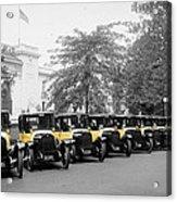 Vintage Taxis 3 Acrylic Print