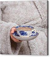 Vintage Teacup Acrylic Print