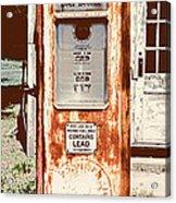 Vintage Tokheim Gas Pump Acrylic Print