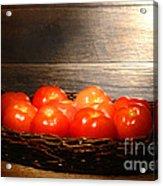 Vintage Tomatoes Acrylic Print