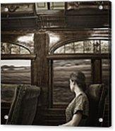 Vintage Travels Acrylic Print