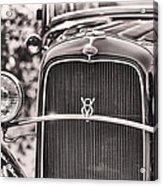 Vintage V8 Acrylic Print
