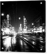 Vintage Vancouver 1951 Acrylic Print