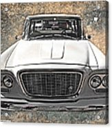 Vintage Vehicle Acrylic Print