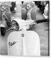 Vintage Vespa Acrylic Print