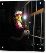 Vintage Victorian Christmas Doll Acrylic Print