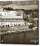 Vintage Vltava Acrylic Print