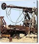 Vintage Water Well Drilling Truck Acrylic Print