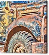 Vintage Welding Truck Acrylic Print