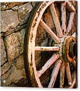 Vintage Wheel Acrylic Print